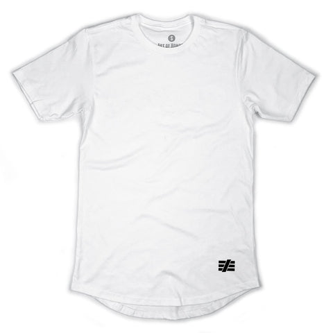 AOH Basic Swoop Tee (White)