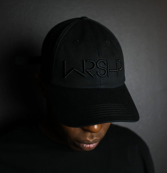 WRSHP - Black/Black - Dad Hat