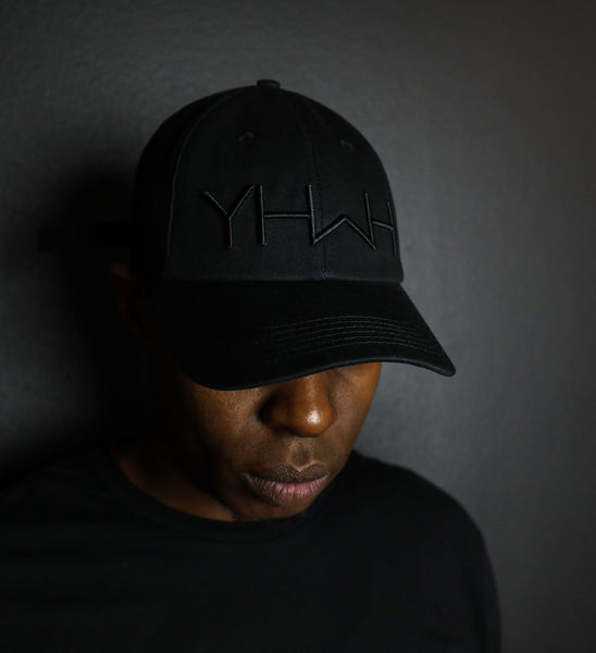 YHWH - Black/Black - Dad Hat