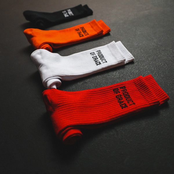 Minimalist Crew Sock - Product of Grace - 4 Pack