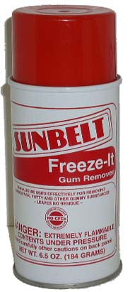 Greeze it gum remover