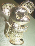 Vintage Mouse Tail Earring Display Jewelry Holder Torino Metal Eeek Mouse Cheese - Paperink Graphics