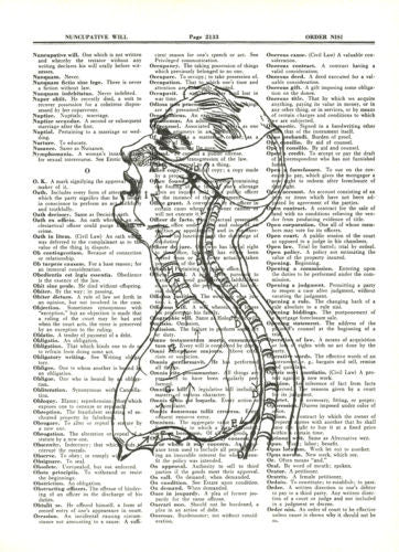 Anatomy Lungs Breathe Medical Dictionary Art Print Vintage fun031 - Paperink Graphics