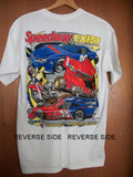 Sunoco Oil Speedway Expo T-Shirt Medium Cotton 2008 Racing Automobile Car Race