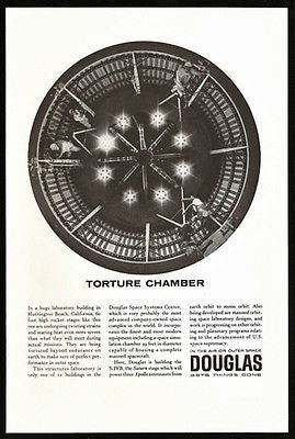 High Rocket Stages Douglas Outer Space Aviation 1965 Ad