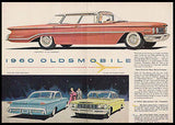 1960 Oldsmobile 98 Holiday Super 88 Photo 2pg Ad