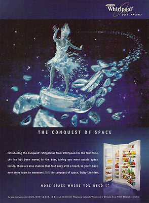 Ice Warrior Conquest of Space 2000 RCA Whirlpool Fantastic Graphic Arts AD