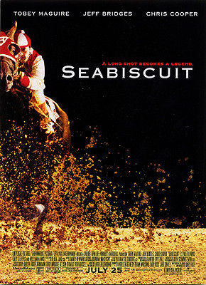 Seabiscuit Racing Horse Legend 2003 Movie Ad