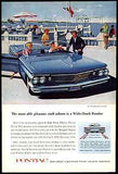 1960 Ad Bonneville Convertible Mad Men era Wide Track Pontiac Artist AF YK Art - Paperink Graphics