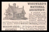 House Designs Woodwards National Architect 1896 AD - Paperink Graphics