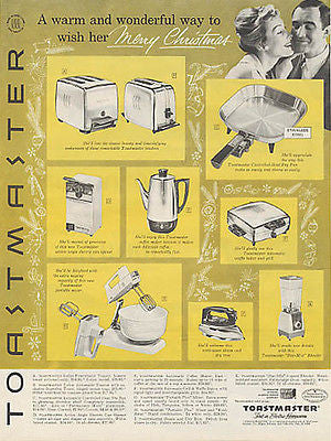 TOASTMASTER Appliances Retro Kitchen 1960 Ad - Paperink Graphics