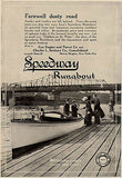 Speedway Runabout Gas Engine Power Charles L. Seabury NYC Boating 1914 Ad