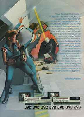 JVC Videocassette Record Space Adventure 1983 Audio AD