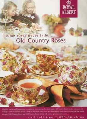 Old Country Roses Tea Set 2001 Royal Albert China AD