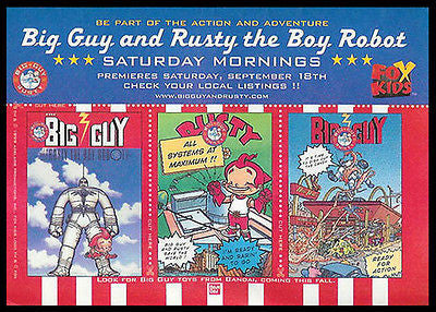 Big Guy and Rusty the Boy TV Cartoon 1999 AD