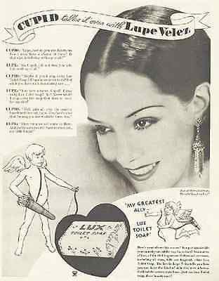 Lupe Velez Actress Cupids Lux Soap 1934 Photo Ad - Paperink Graphics