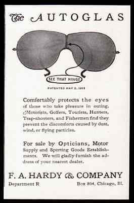 Eyeglasses Dirt Dust Protection 1914 Sports Optical AD - Paperink Graphics