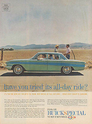 Buick Special Baby Blue 1960 AD
