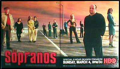 Sopranos Cast Members 2001 Season Premiere Television HBO Ad