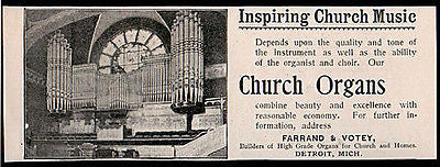 Church Organs Pipes Musical Instruments Photo 1894 AD - Paperink Graphics