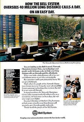 1979 Bell System AD Network Operations Bedminster, NJ