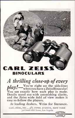 Binoculars Carl Zeiss Football Stadium Sports 1937 Optical AD