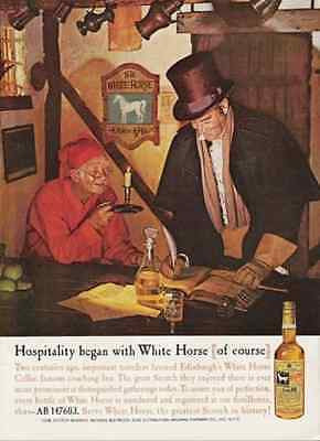 1960 AD White Horse Cellar Scotch Hotel Guest Registers 1742 Edinburgh Inn - Paperink Graphics