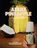 Pina Colada AD 1982 Adult Pineapple To Go Club Cocktail Huge Pineapple Coconut
