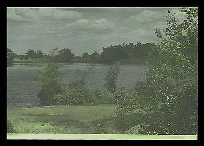 Lake Photograph Early Color Nature Image Heavy Paper 7x5 Flat Finish Photo