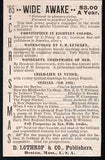 1885 Publishing AD D. Lothrop & Co. Publishers Boston, MA Advertising - Paperink Graphics
