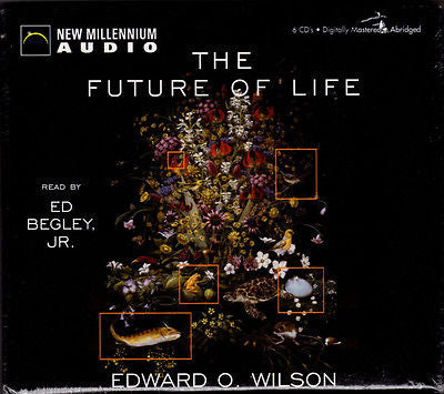 NEW Edward O. Wilson The Future of Life Abridged 6 Compact Discs CDS Earth - Paperink Graphics