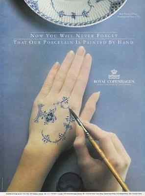Royal Copenhagen Porcelain Hand Painted Blue Fluted Half Lace 1992 Photo AD