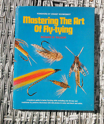 HOLD check status Mastering the Art of Fly-tying by Richard W. Talleur Hardcover 1979 Book - Paperink Graphics