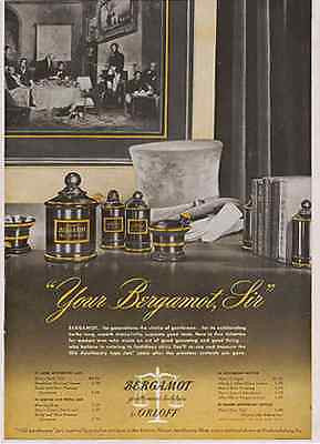 Apothecary Jars featured 1946 Orloff Bergamot Mens Ad - Paperink Graphics