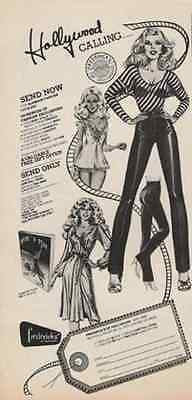 Busty Models 1979 AD Classic Frederick's of Hollywood