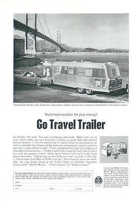 Stainless Mobile Home Travel Trailer 1966 Photo AD