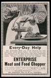 Meat and Food Chopper Grinder Enterprise 1898 Kitchen AD