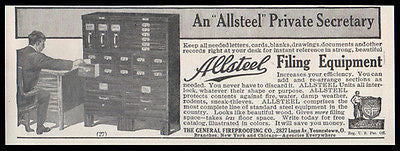 File Cabinet 1914 Ad Superb Allsteel Sectional File System Customize Sections