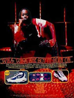 Reebox Saudia Roundtree Womens Basketball Reebox 1997 Shoe AD