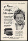 Theresa Paulian Secretary Typewriter 1951 AD Remington Rand