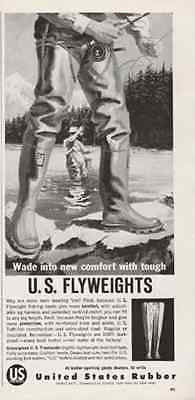 Fishing Boots Troutwader 1960 AD US Rubber Sports