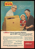 Sun Drug Stores Computing Cash Register 1956 Photo AD