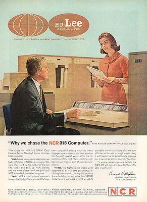 Vintage Computing AD 1962 NCR 315 Computer CRAM Card Random Access Memory System