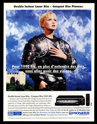 Pioneer Compact Disc AD 1996 Joan of Arc French CLD 310 Photo Illustr Audio AD