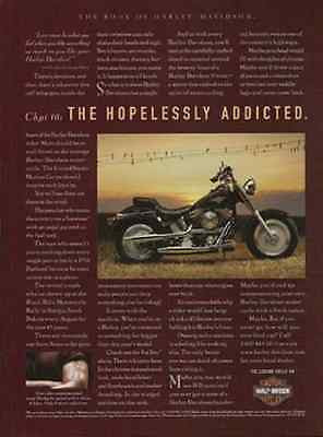 Fat Boy Harley-Davidson Motorcycles 1997 AD Chapter 16