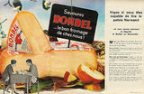 Bonbel Cheese AD 1962 France 2pgs Dairy Magazine Advertisement - Paperink Graphics