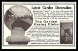 Garden Gazing Globe 1911 AD Witch's Ball Garden Decoration Photos Illustrated AD - Paperink Graphics