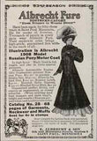 Albrecht Furs Motor Coat St Paul MN 1908 AD - Paperink Graphics