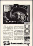 Doctor Nurse Examine X- Ray 1941 Photo AD - Paperink Graphics