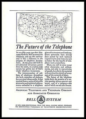Telephone AD 1926 Bell Telecommunications Future of Telephone
